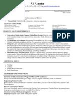 ali almater resume fall2014-2