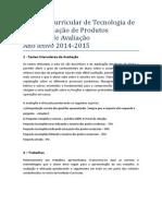 Criterios de Avaliação de TTP