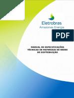 Manual Especificacoes Tecnicas de Materiais Amazonas Energia