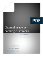 Channel Usage by Banking Customers