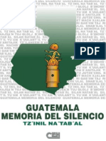 Guatemala Memoria Del Silencio