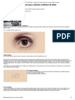 PHOTOSHOP CREATIVE - Conheça Os Principais Passos Para a Pintura Realística de Olhos
