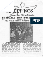OkinawaChristianMission 1957 Japan