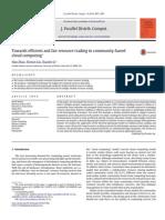Zhao, Liu, Li - 2014 - Towards Efficient and Fair Resource Trading in Community-based Cloud Computing