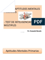 Calificación Test de Aptitudes Mentales Primarias Inteligencias Multiples 1225309534262665 9