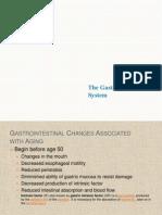 Gerontologic Nur - GIT Changes
