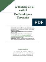 Con Trotsky en El Exilio