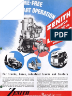 Zenith Carburetor Advertizement