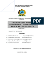 FIQ-UNCP Trabajo de primera Ley
