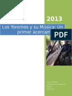 Etnomusicología Yoreme