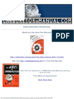 Stromberg Carburetor Gaskets Parts Manual
