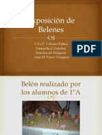 Exposición de Belenes