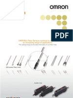 Omron - Fiber Sensors Best Selection Catalog