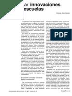 Planificar Innovaciones en La Escuela / Viviana Macchiarola