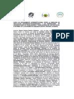 Carta de Entendimiento Insterinstitucional e,d.v. Unah 2014