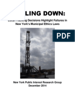 NYPIRG Drilling Down