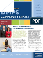 DMPS Community Report - December/January