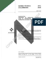 Ntc 3838 - Tercera Actualización - 2007