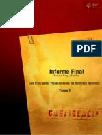 Archivo del Terror Informe Final de la Comisión de Verdad y Justicia Tomo II