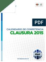 Calendario Torneo Clausura 2015 Liga MX