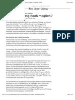 Gastkommentar zum «arabischen Frühling»_ Ist eine Rettung noch möglich_ - Nachrichten - NZZ.ch
