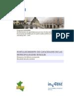 Peru- Desarrollo de Capacidades de Municipalidades