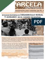 Boletín La Parcela Informativa No4