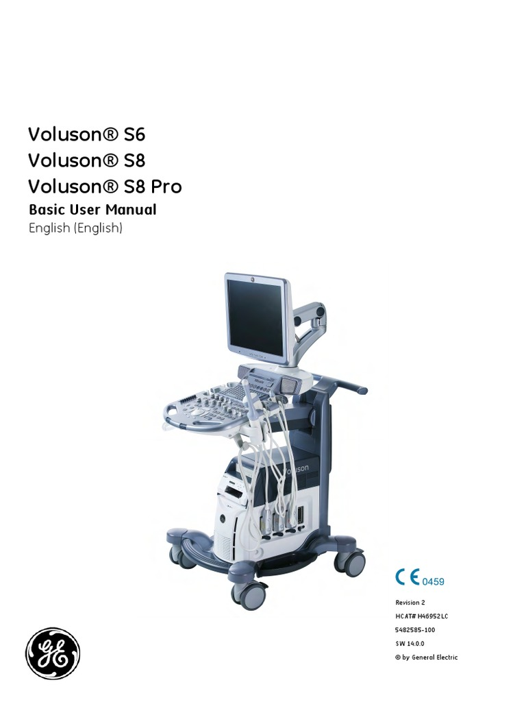 Voluson® S6 Voluson® S8 Voluson® S8 Pro Basic User Manual | Medical  Ultrasound | Ac Power Plugs And Sockets