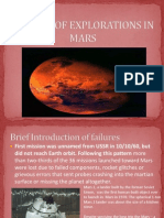 history of exploration of mars