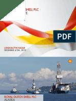 Shell Oil presentation on Alaska Arctic drilling
