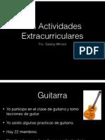 spanish proyecto para viernes