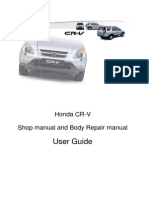 honda cr-v 1997-2001 User Guide Uk