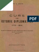 Curs de Istorie Diplomatica