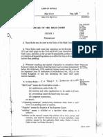 High Court Rules Guyana 1955