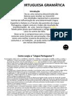 Língua Portuguesa Gramática