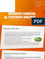 Motor industry analysis