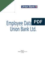 Employee Database Union Bank Limited