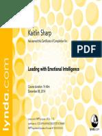 Prof.develp.doc. Kaitlin Sharp LeadingwithEmotionalIntelligence CertificateOfCompletion