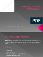 Generalidades de Osteología