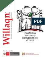 Conflictos Sociales y Corrupcion en Peru