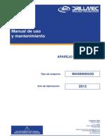 Manual de Mantto. de Malacate