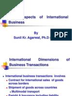 Legal Aspects of International Business BIMTEC