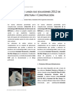 Autodesk Lanza Sus Soluciones 2012 de Arquitectura y Construcción