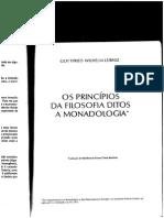 Livro Leibniz - Monadologia
