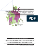 Plan Maestro de vinculación de reservas naturales