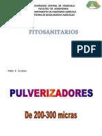 Pulverizadores y otros Fitosanitarios