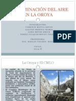 Contaminacion Del Aire en La Oroya