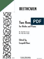 Two Romances - Beethoven