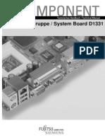 Manual Placa Base Fujitsu Siemens D1331