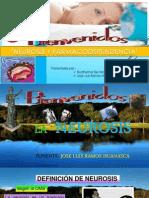 Exposicion de Neurosis y Farmacodependencia